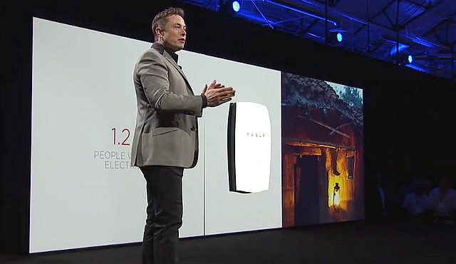 Batterie Tesla Elon Musk