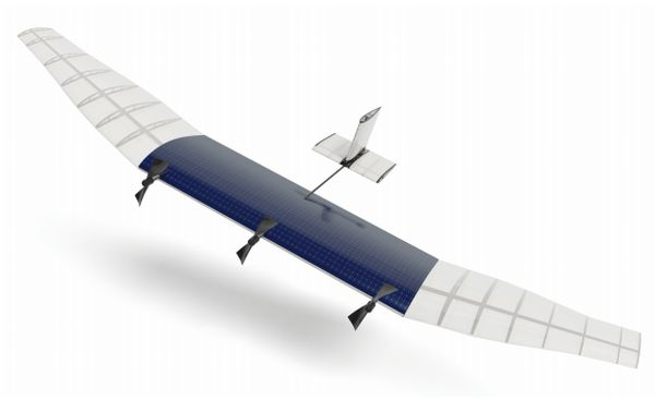 Aquila drone photovoltaique